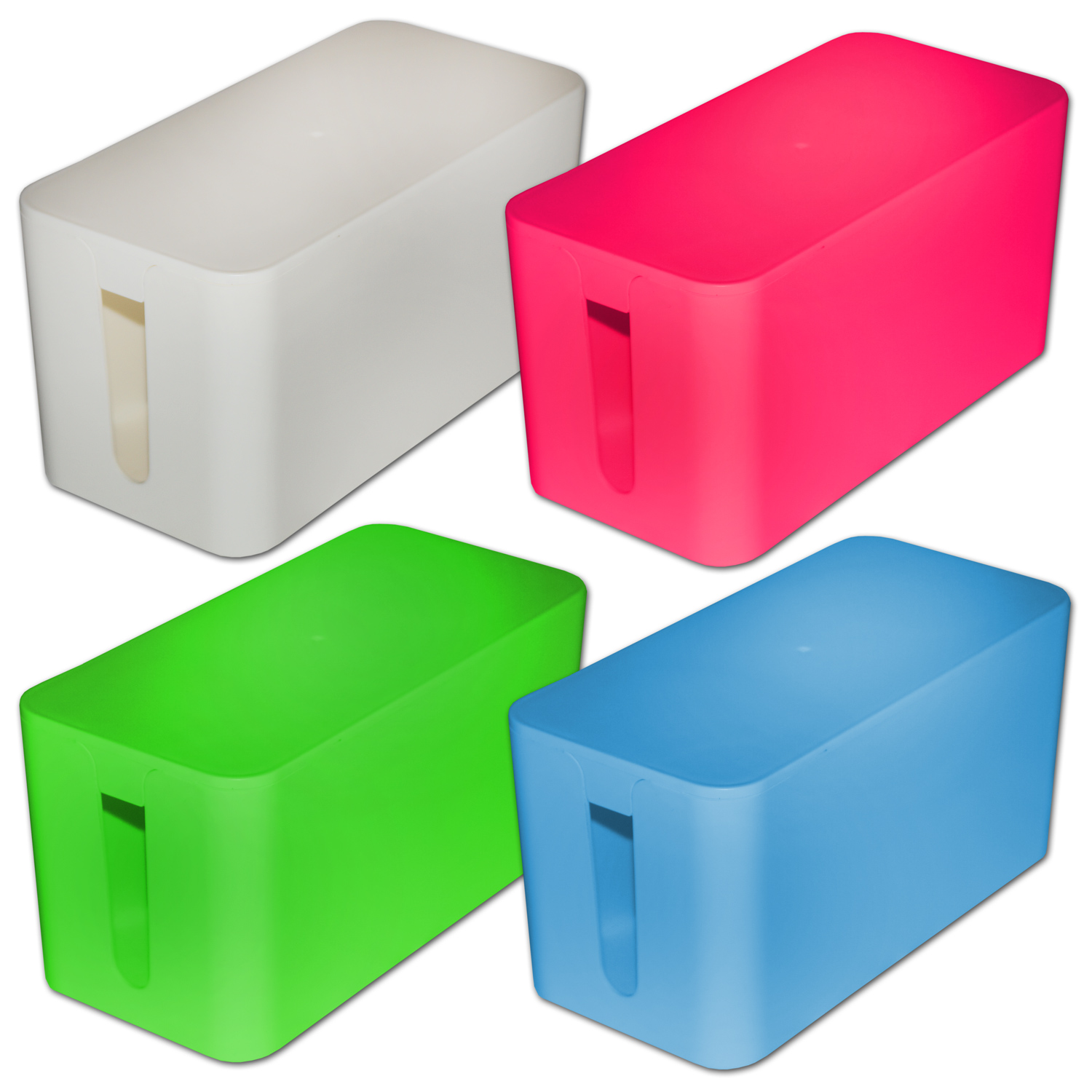kabel ordnungsbox f r mehrfachstecker kabelordnung staukiste cable storage box ebay. Black Bedroom Furniture Sets. Home Design Ideas